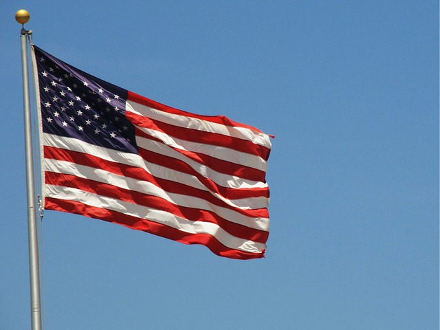 US flag from Pixabay