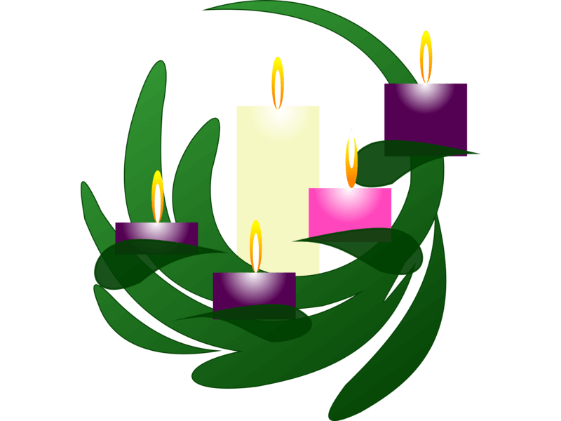 Advent Wreath Christmas Eve by Philip Barrington / CC0 1.0