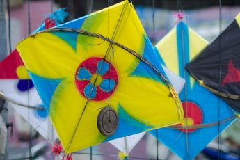 Makar Sankranti - Kite Festival in Hyderabad by Saurabh Chatterjee / CC BY-NC-ND 2.0