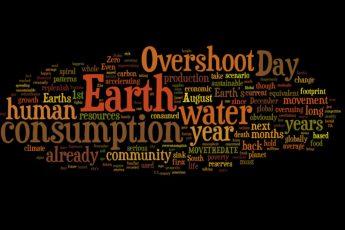 Earth Overshoot Day 2018